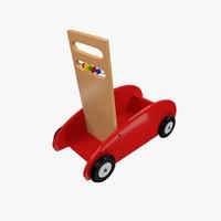 3d baby walker model