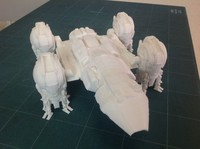 3D Printable kit - Prometheus spaceship from Prometheus movie