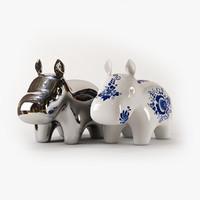 3d model hippo