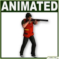 shotgun bullet 3d model