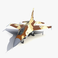 3d model fighter f 16 fighting falcon