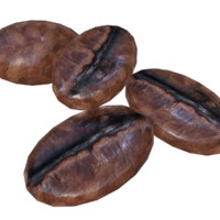 coffee grain 3d model