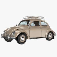 3d volkswagen beetle classic