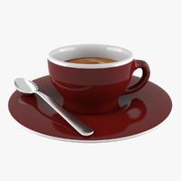 3d espresso cup