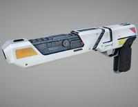 3d specular laser pistol