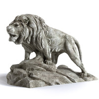 max sculpture lion