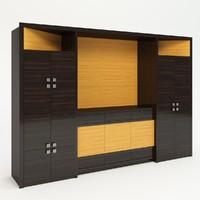 3d model cupboard wood