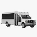 shuttle bus 3D models