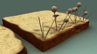 3d obj fungi