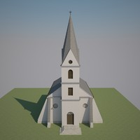 3d structurally correct church