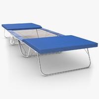gymnastics trampoline 3d obj