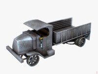 3d bullfrog transporter war model