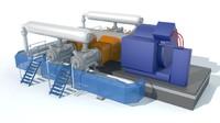 3d indoor compressor
