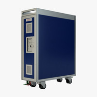 catering cart 3D models