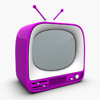 cartoon mini toy tv 3d 3ds