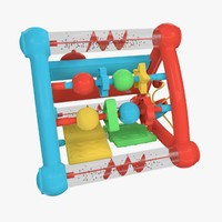 rattler toy 3d model