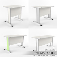 Office Desks Unisma Forte (pack 2)