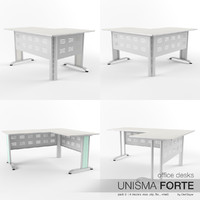 Office Desks Unisma Forte (pack 3)