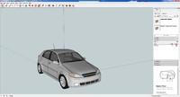 3d daewoo lacetti model