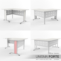 Office Desks Unisma Forte (pack 4)
