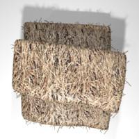 hay stack 3d blend