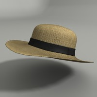 women s hat 3d max