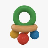 3ds rattle toy