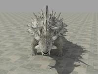 3d ankylosaurus model