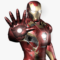 3d iron man avengers mark