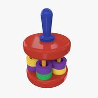 rattle toy 3d model