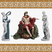 3d model aphrodite sculpture