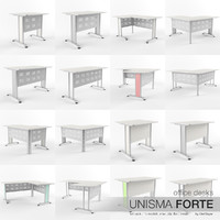 Office Desks Unisma Forte (full pack)