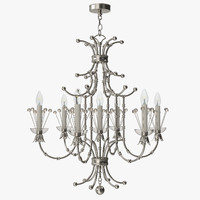 remains - contessa chandelier 3d model