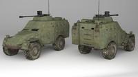 3d armoured apc model