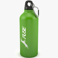 3d bottle sport model