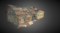 3d russian building destroyed