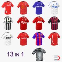3d max soccer t-shirts shirt