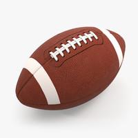 football white 3d model