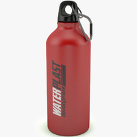 3d model bottle sport