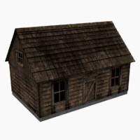 3d cabin old model