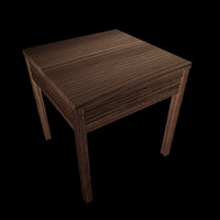 3d model table stand