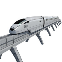 Modern electromagnetic train