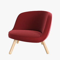 chair designed furniture 3d max