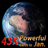 powerful earth january 3d ma