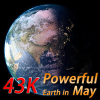 powerful earth 3d model
