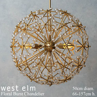 3d model of west elm floral burst