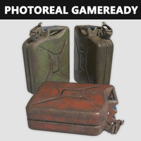 Jerry Can Game-ready