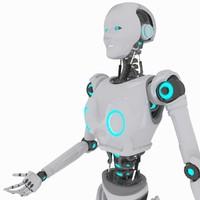 robot 3d max
