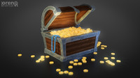 treasure games 3d model