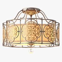 marcella lighting feiss 3 3d model